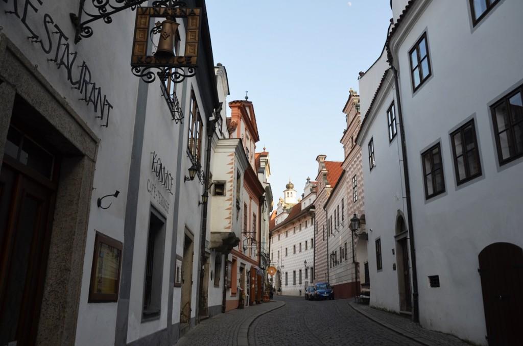 Cesky Krumlov straatje