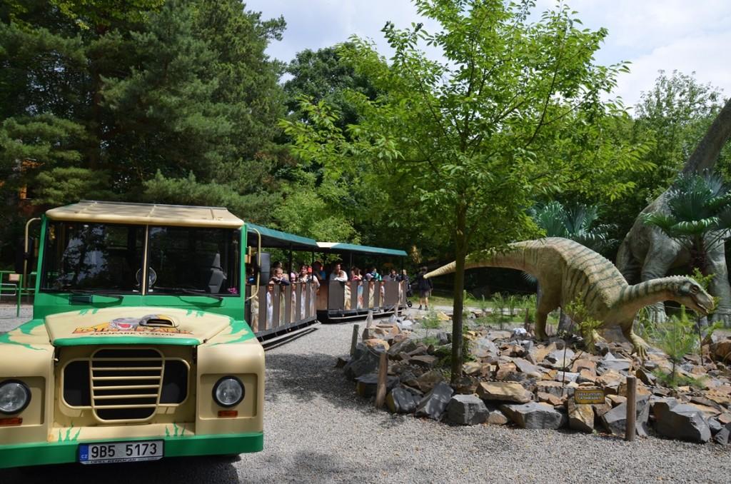 Dinopark Vyskov treintje