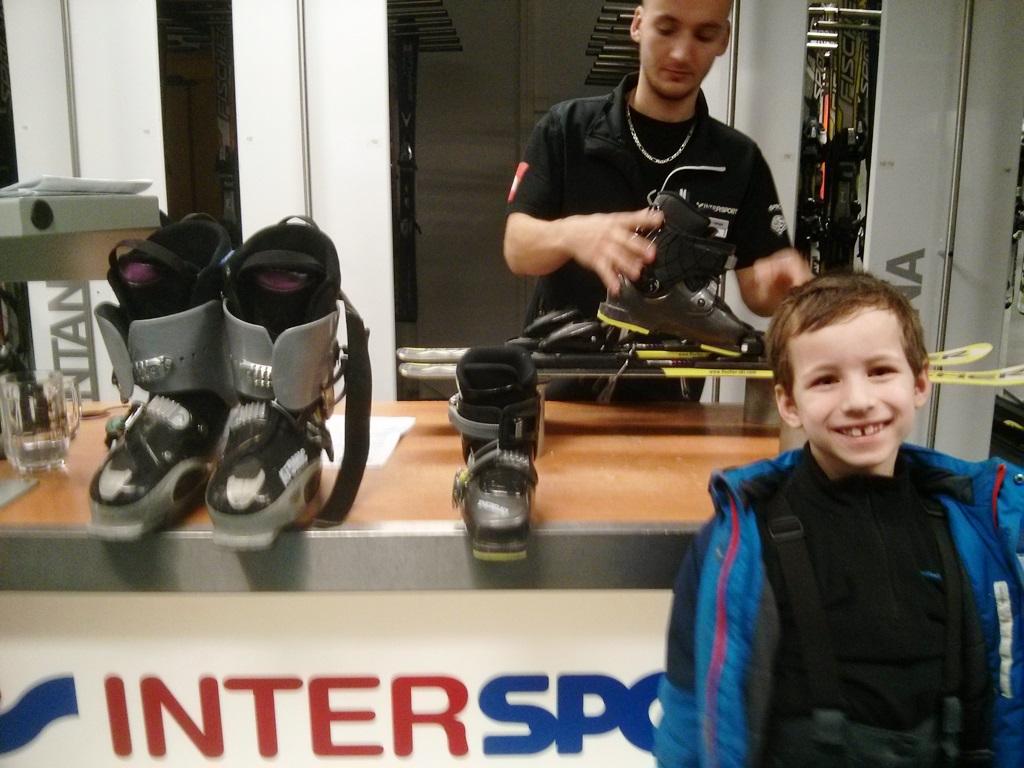 Intersport skiverhuur Lipno
