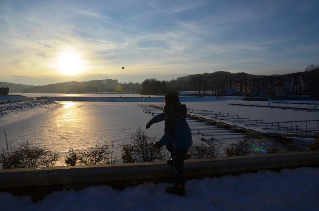 Landal Marina Lipno sneeuwbal