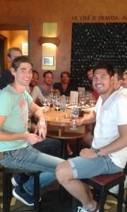 Mijn Praag Tours wijnproeverij