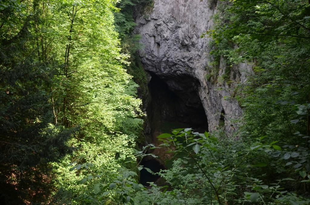 Moravsky kras Macocha grot