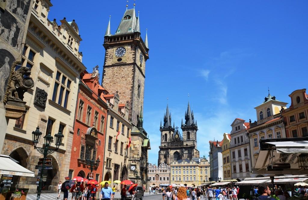 Praag Plein Oude Stad