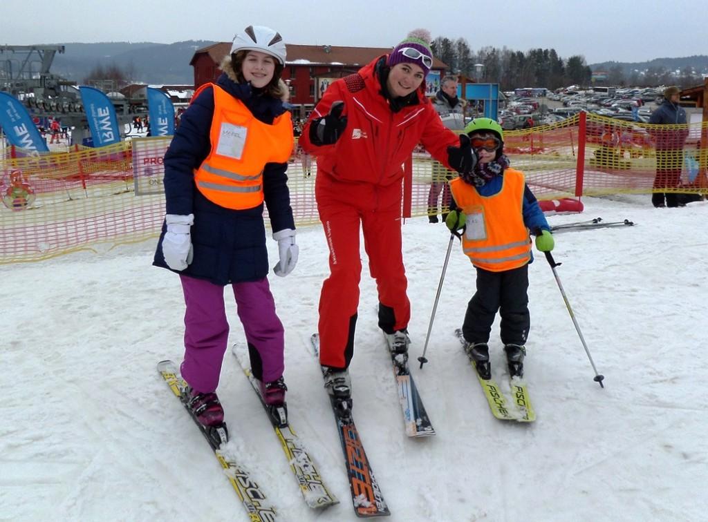 Skiles van Skichool Lipno