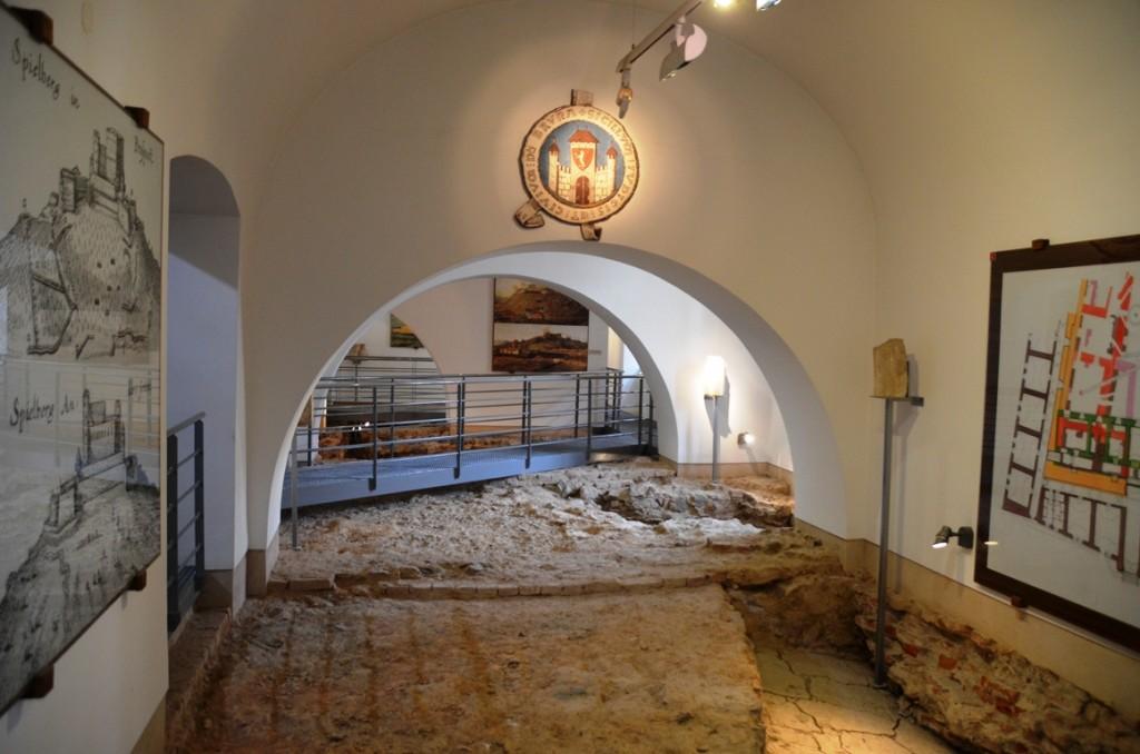 Spilberk Brno fundamenten