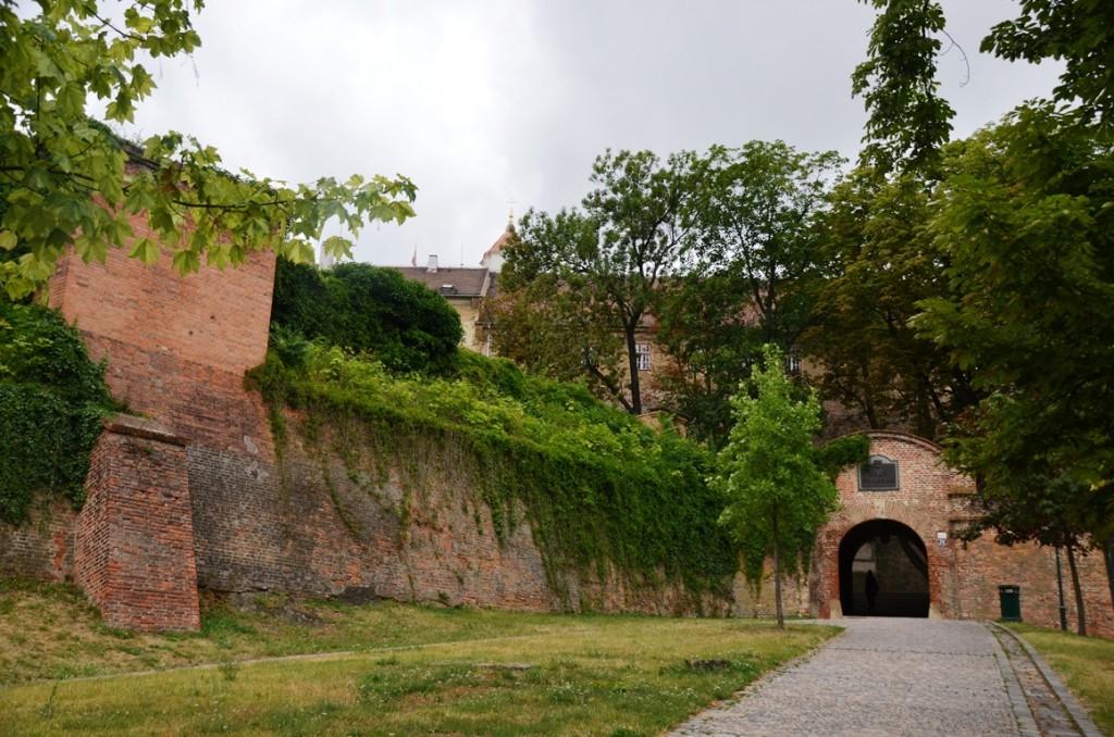 Spilberk Brno ingang