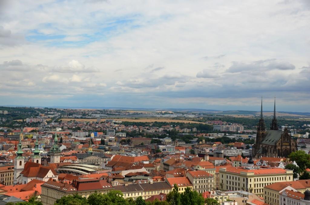 Spilberk uitzicht Brno