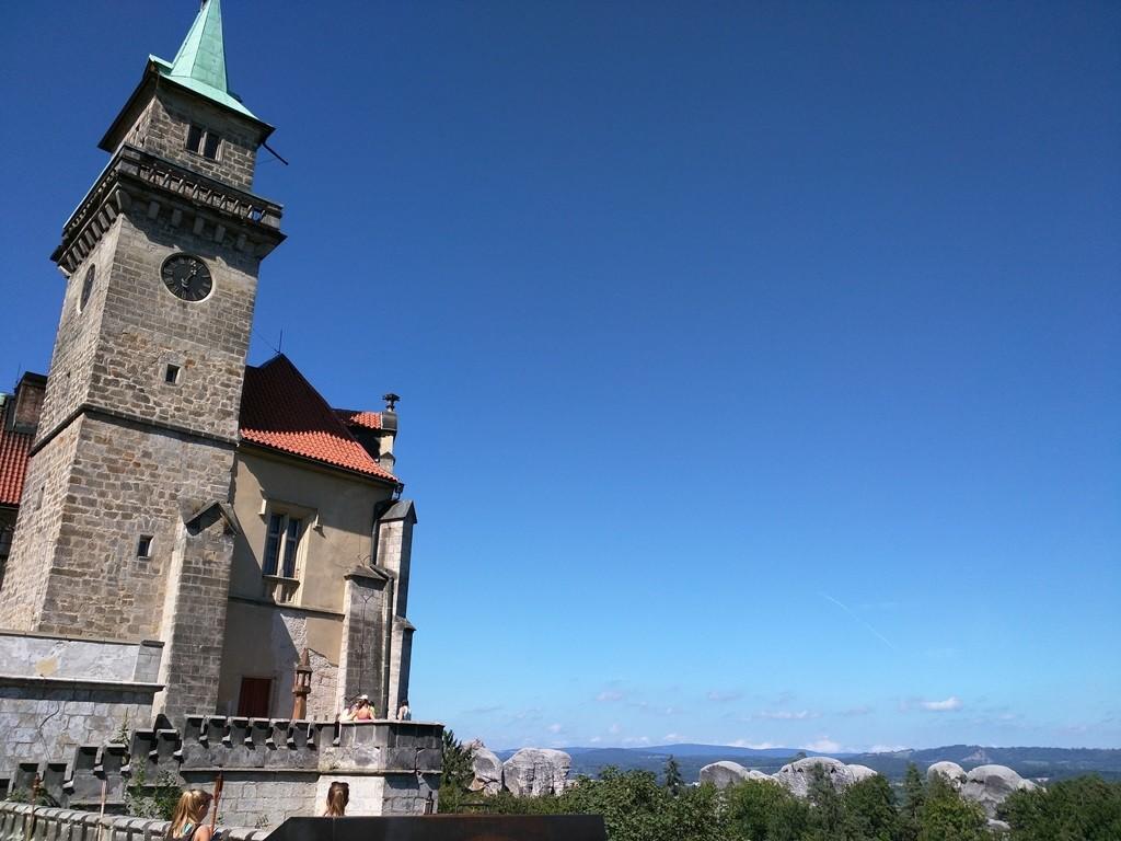 Boheems Paradijs in Tsjechië kasteel Hruba Skala
