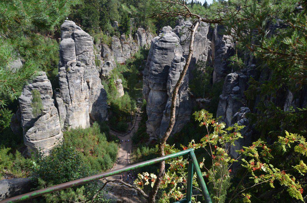 Boheems Paradijs in Tsjechië