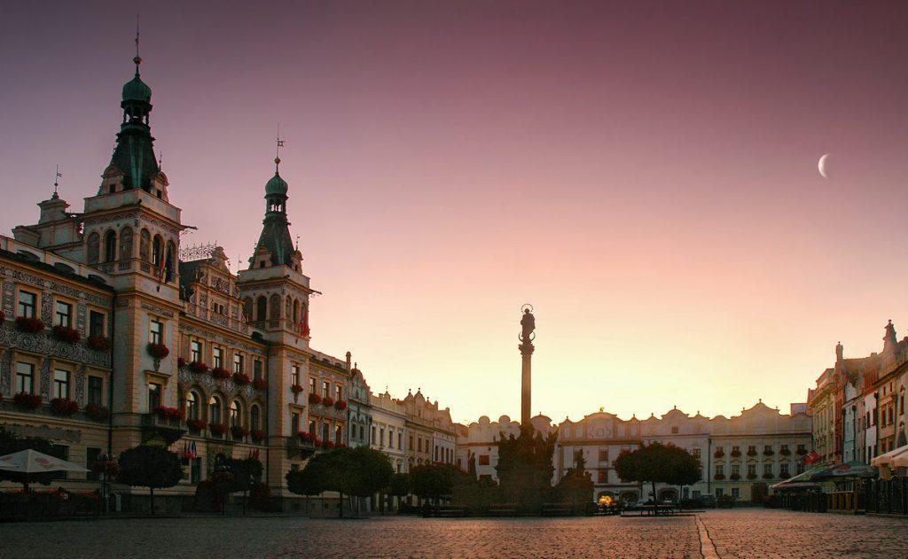 Pardubice in Tsjechie