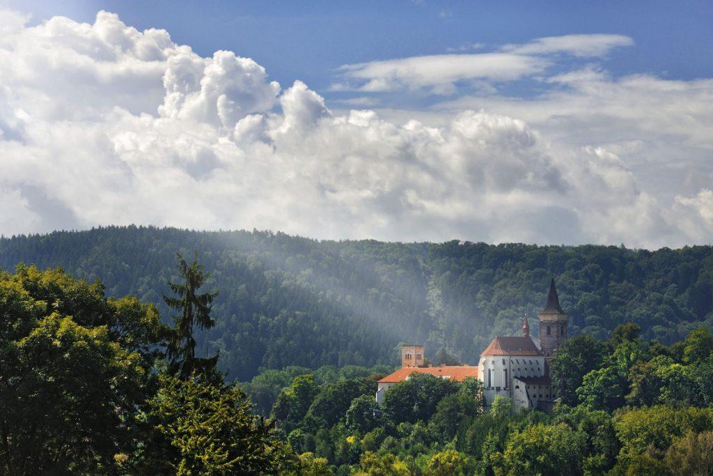 klooster in Sazava, Tsjechie