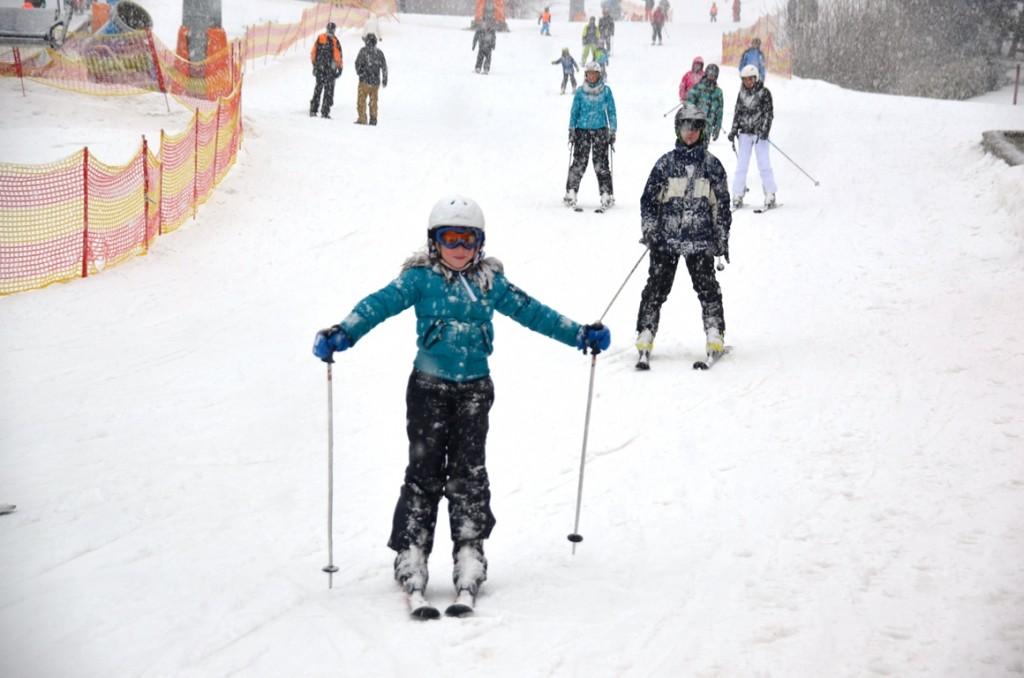 Wintersport: Van sneeuw word je nat