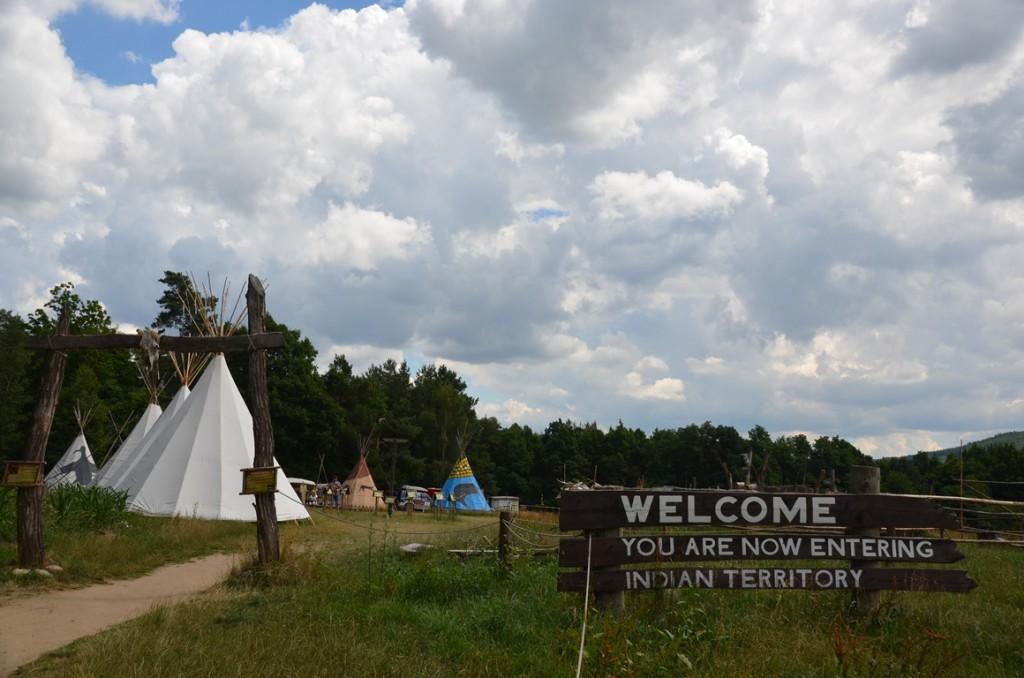 Westerndorp Boskovice indianendorp