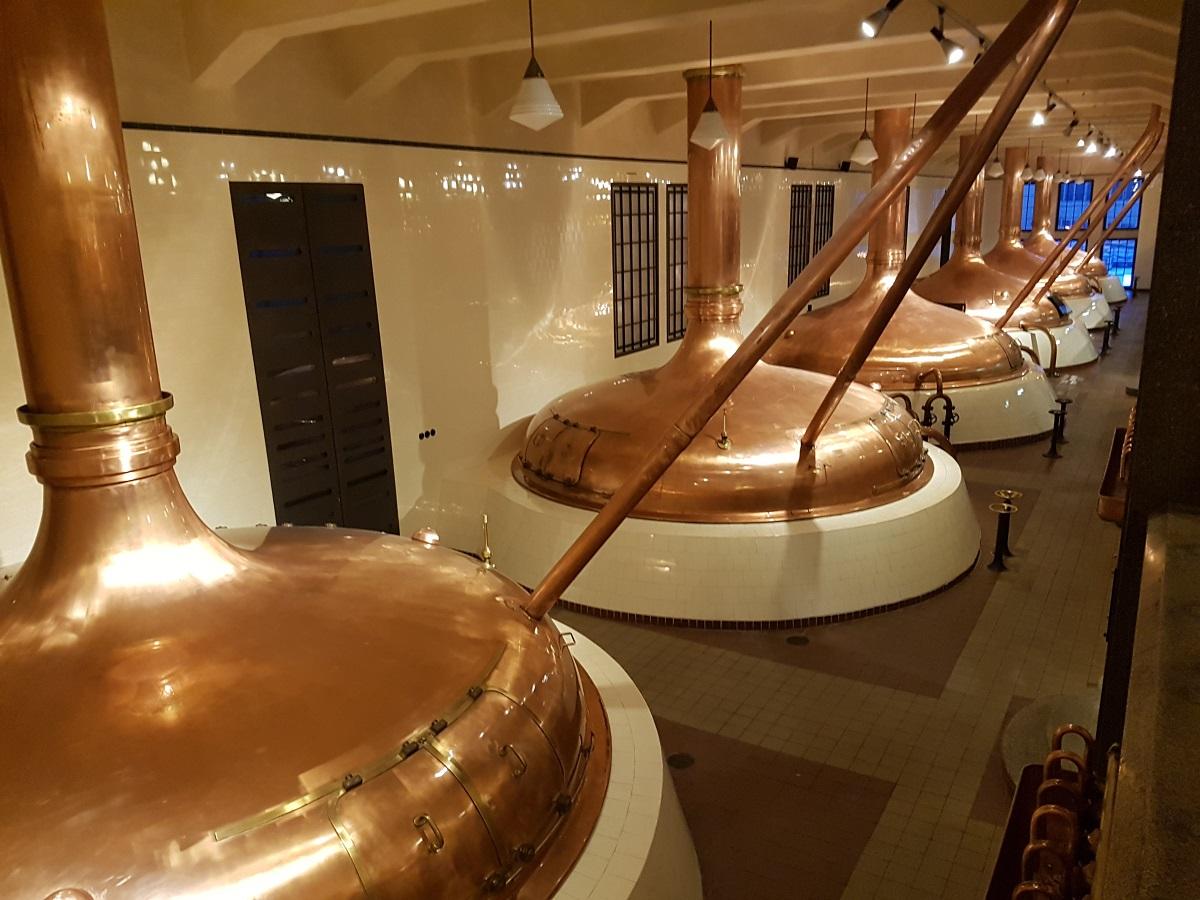 Rondleiding brouwerij Pilsen