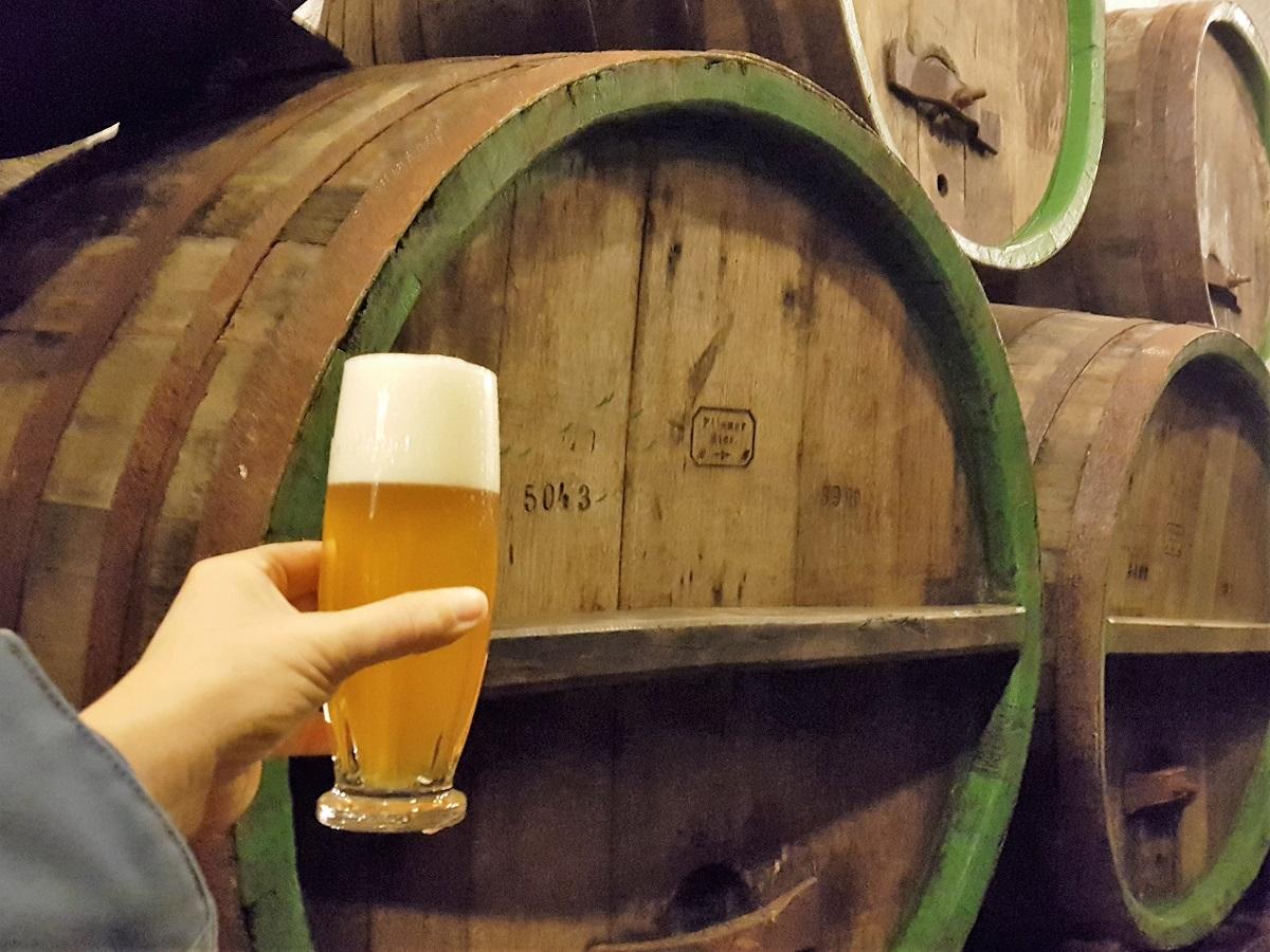 Bier proeven bij Pilsner Urquell