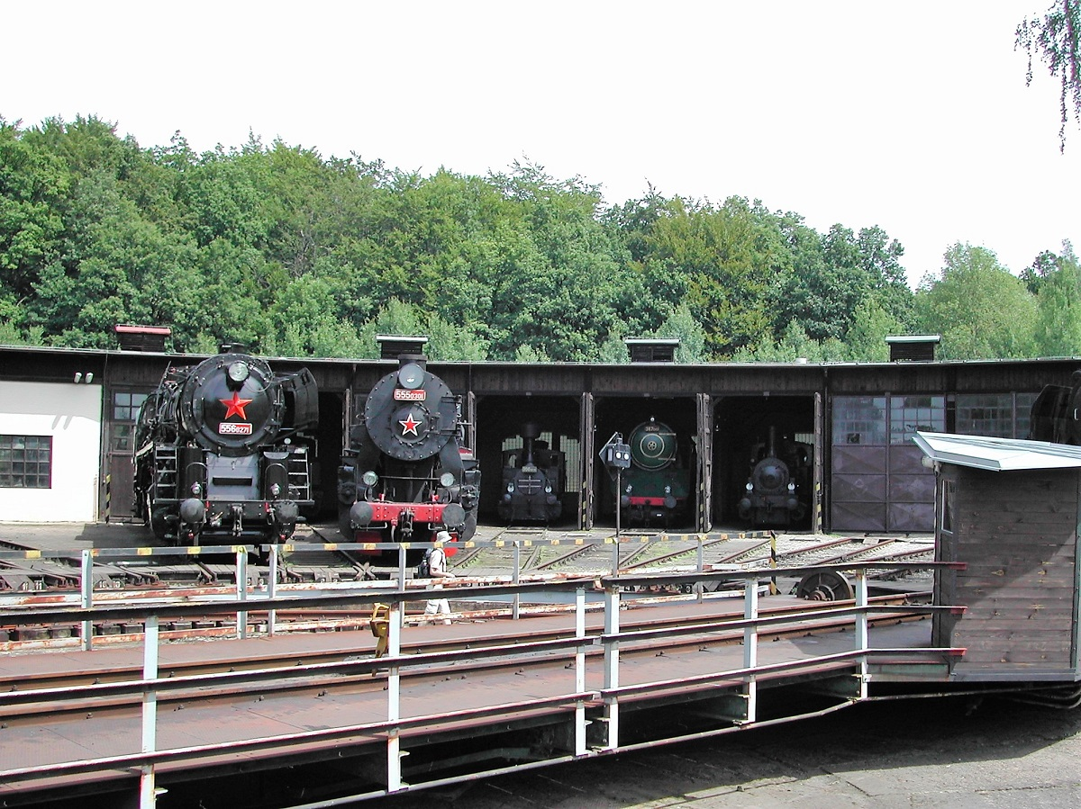 spoorwegmuseum in tsjechie